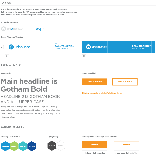 Brand guidelines for CTAConf