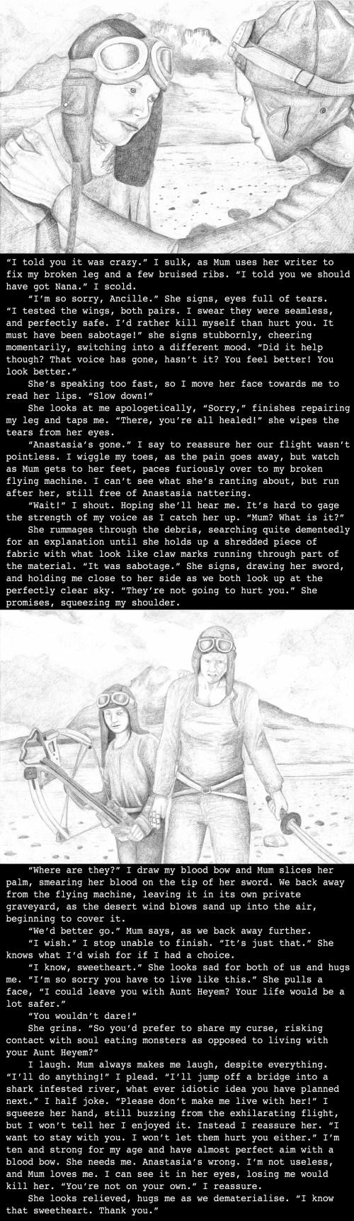 Ancille's back story, set on Mount Kilimanjaro, Tanzania (4010)