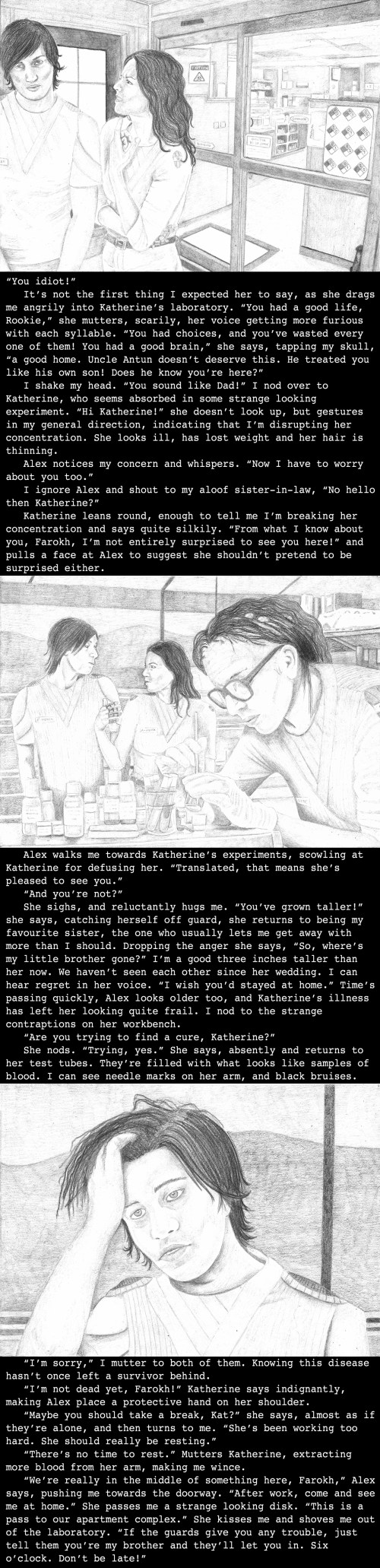Farokh's backstory, set in Saskatoon military base, India (3990)