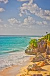 Tulum Ruins beach - Closed due to bad weather :(