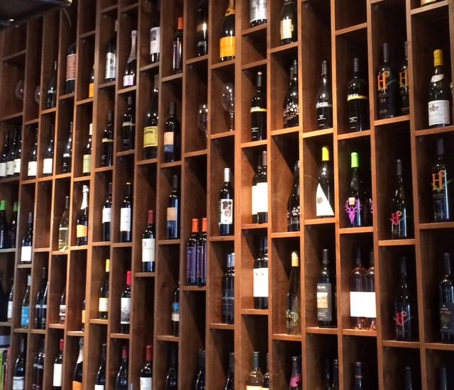 wine wall - Not Your Typical Restaurant Review: Fork It!
