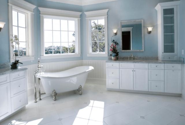 Bathroom4 - Create a Minimalistic Bathroom Theme with Smart Accessories
