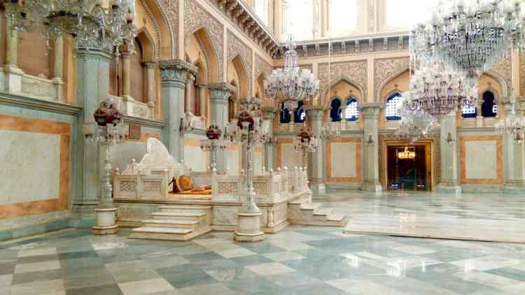 Throne Nizam Chowmahalla Palace Hyderabad