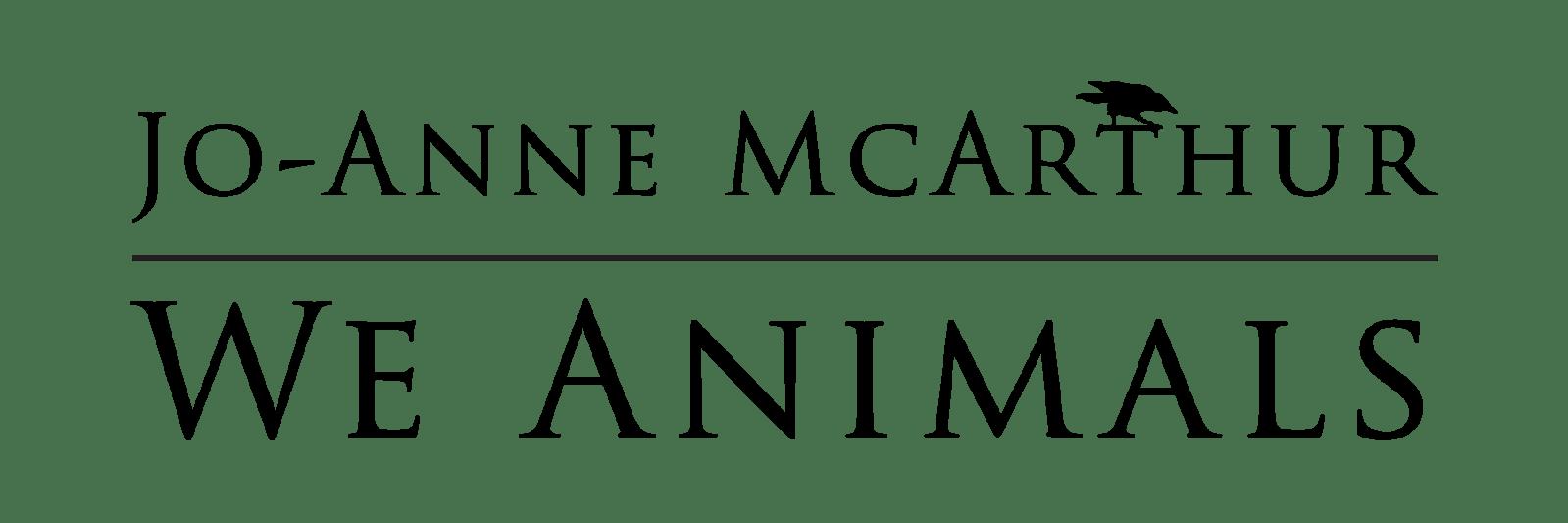 We Animals Jo-Anne McArthur