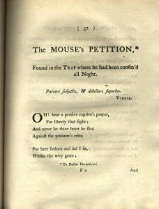 The Mouse's Petition