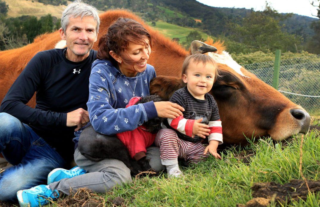 Castañeda and her family