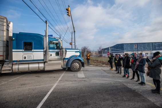 Burlington Pig Save vigil. Canada, 2018.