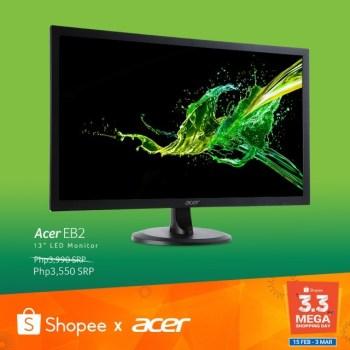 Acer EB2 EB192Q LED Monitor