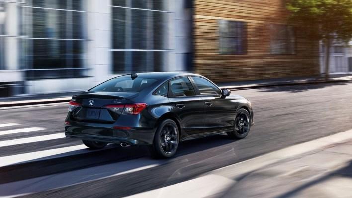 All-new 2022 Honda Civic