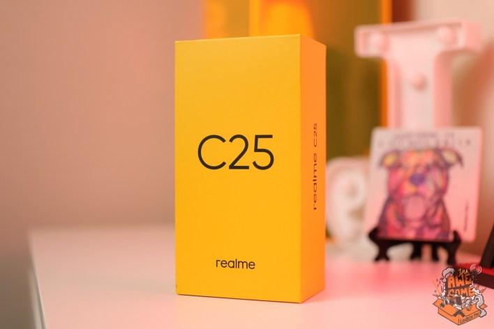 realme C25 unboxing