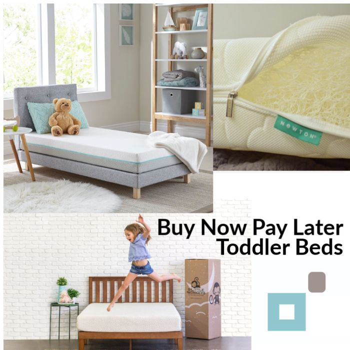 toddler bed buy now pay later