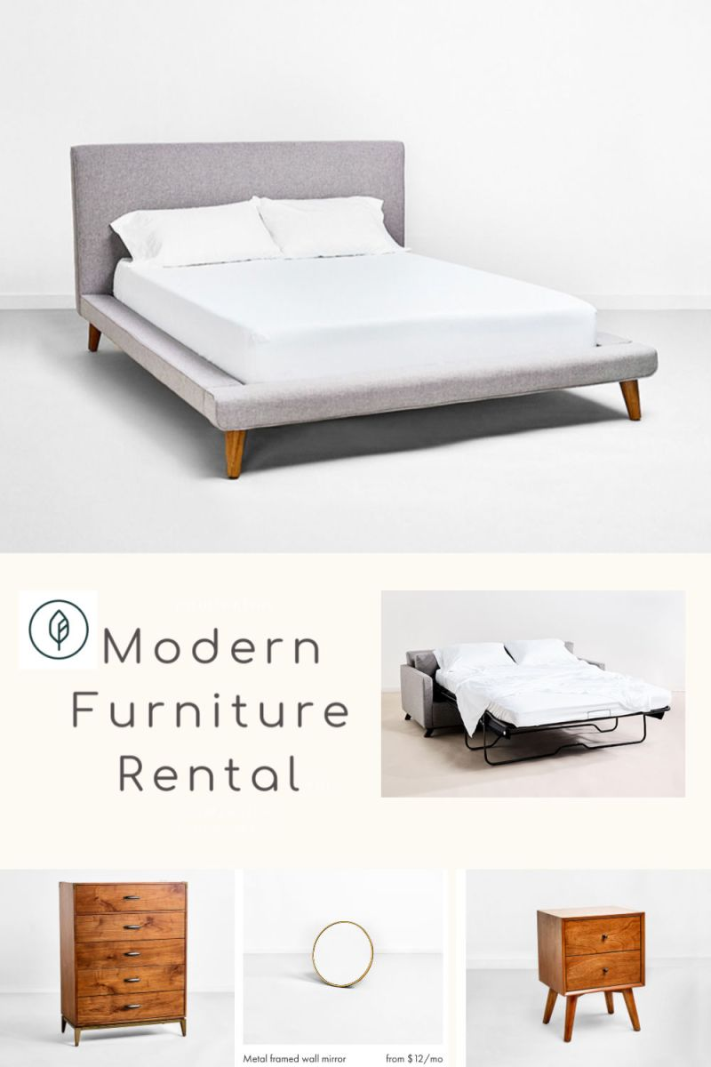 Bedroom furniture rental San Fransisco