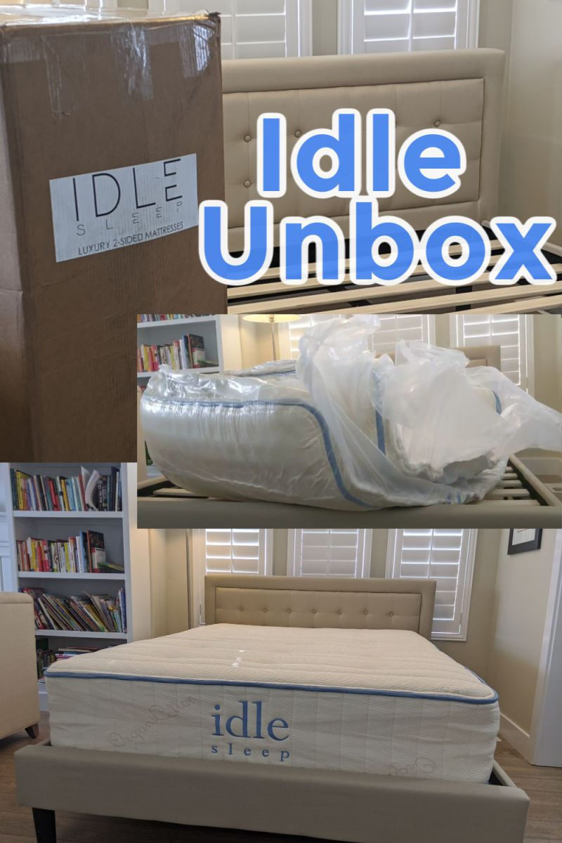 Idle Mattres unboxing