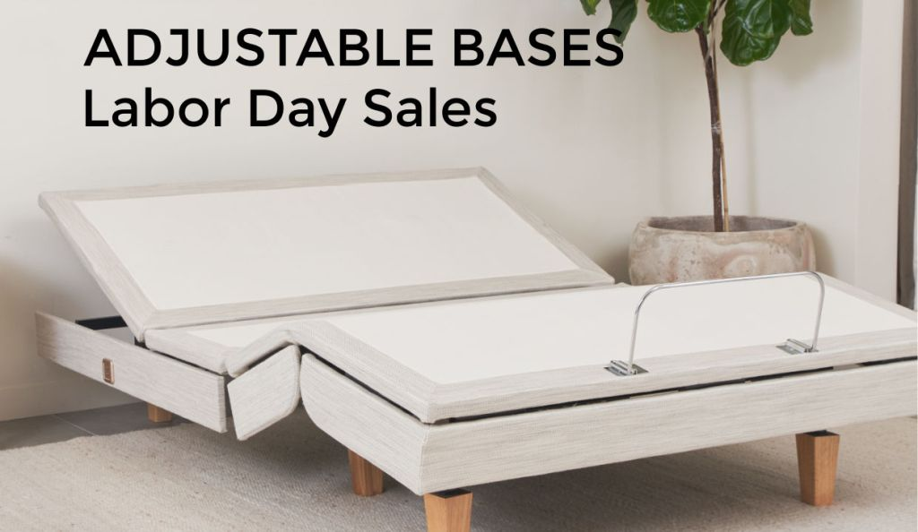 adjustable base sales for Labor Day