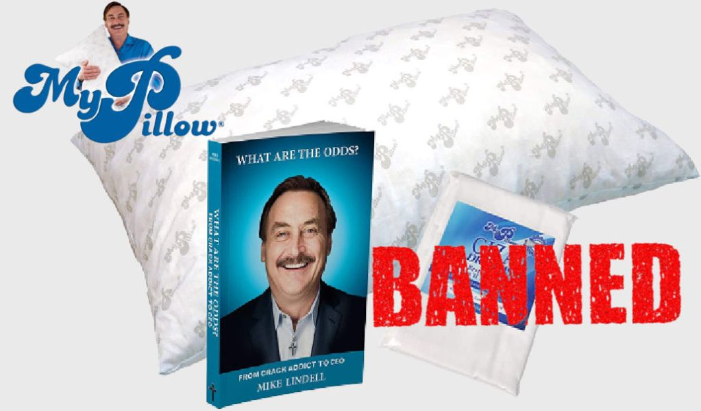 MyPillow dropped by retailers