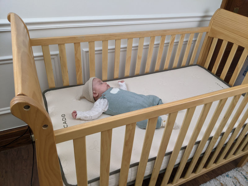 Avocado crib mattress