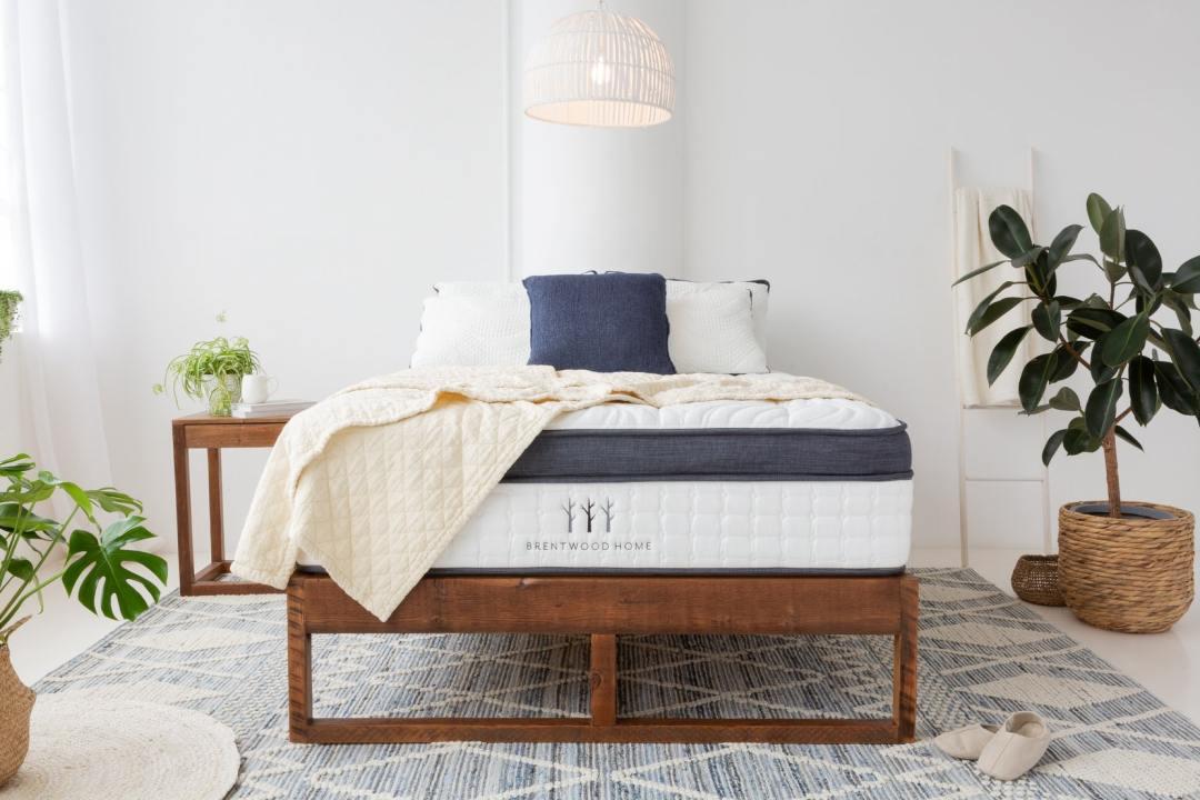 Brentwood Home euro top mattress