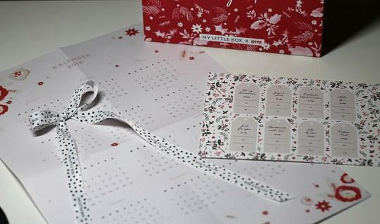 Papeterie: Kalender und Geschenkanhänger
