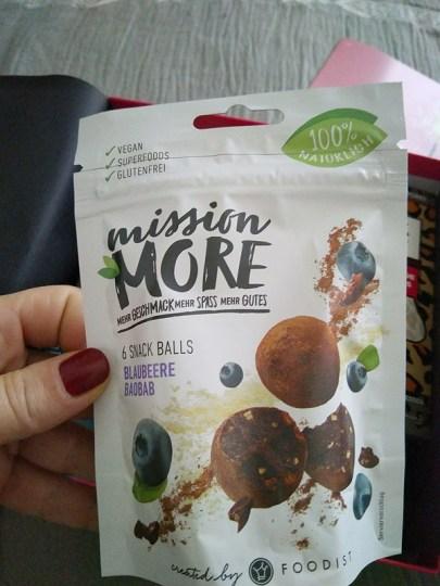 Mission More - Snack Balls Blaubeere Baobab