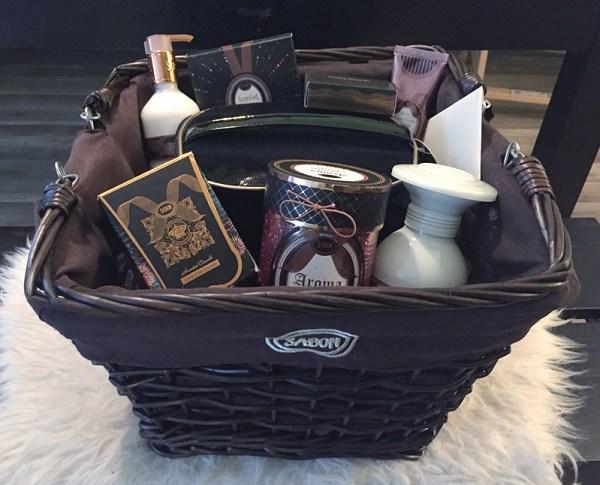 Sabon Geschenkkorb im Gewinnspiel von Glossybox