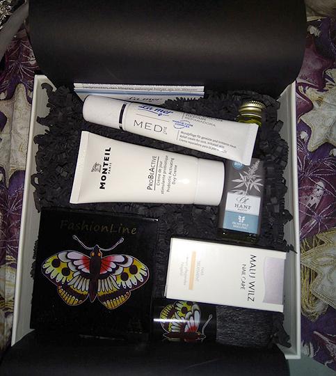 Juvenilis-Box - ein toller Mix aus Naturprodukten, Pflege und Kosmetik