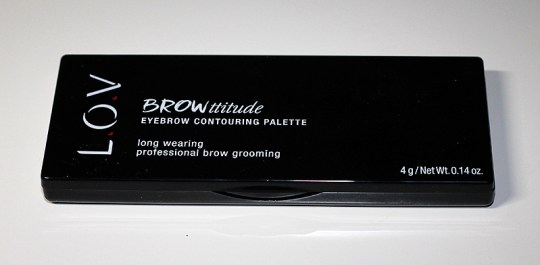 L.O.V. BROWttitude Eyebrow Contouring Palette