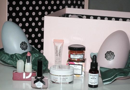 Schöner frühlinghafter Mix aus Pflege und Kosmetik