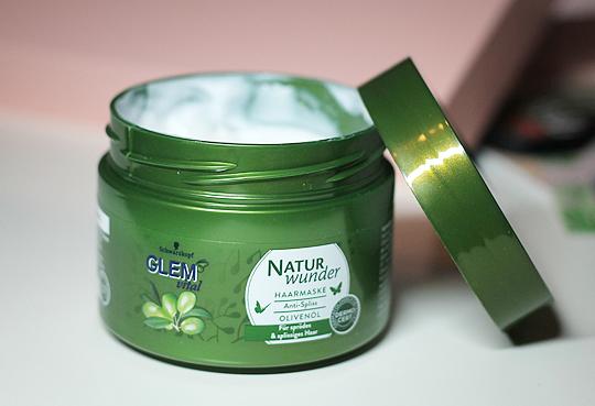 Glem Vital - Naturwunder Haarmaske Anti-Spliss mit Olivenöl