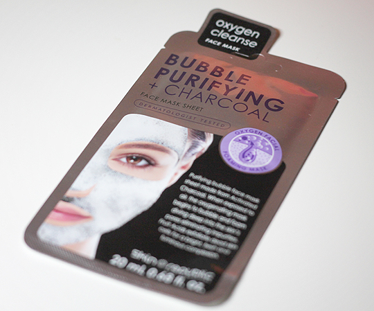 Skin Republic: Bubble Purifying + Charcoal Face Mask Sheet