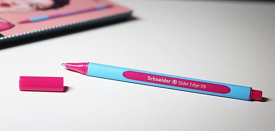 Goodie: Schneider - Slider Edge XB in Pink