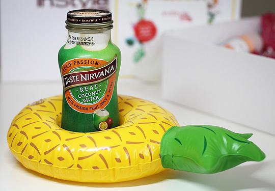 aufblasbarer Ananas-Pool-Getränkehalter
