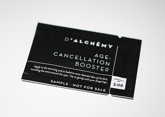 D'Alchémy Age Cancellation Booster