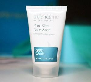 Aufgebraucht! Oktober 2018 Balanceme Pure Skin Face Wash