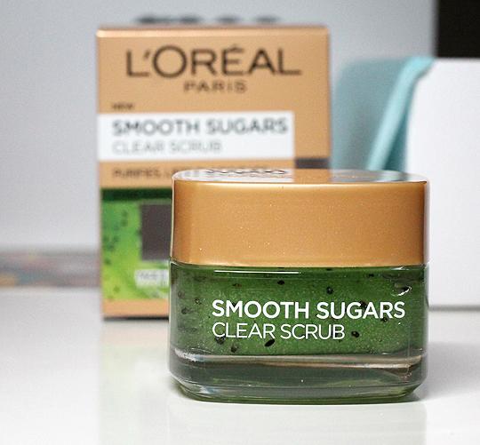 L'Oreal: Smooth Sugars Clear Scrub