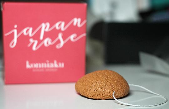 Japan Rose Konnìaku Konjakschwamm