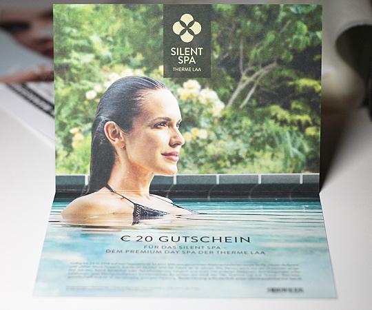 Therme Laa Silent Spa Wertgutschein 20 Euro