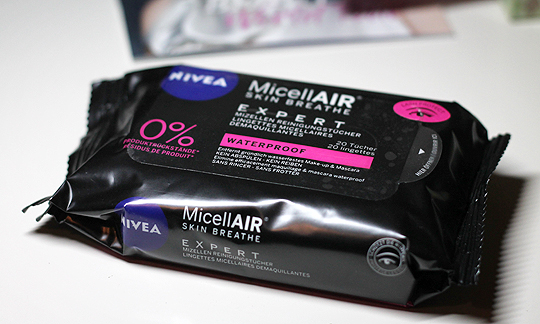 Nivea NicellAIR Skin Breathe Expert Reinigungstücher