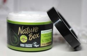 Aufgebraucht! Oktober 2018 Nature Box Avocado Body Butter