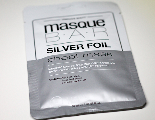 Masque Bar - Silver Foil Sheet Mask