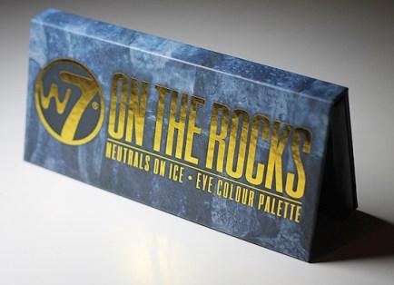 W7 - On The Rocks Lidschattenpalette