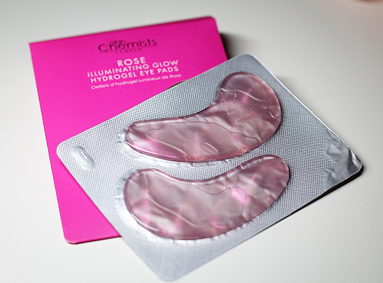 Skin Chemists - Rose Illuminating Glow Eye Pads