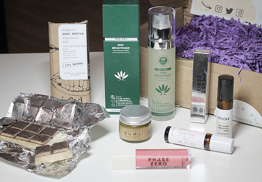 Die brandneue Cruelty Free Beauty Box Juni 2019