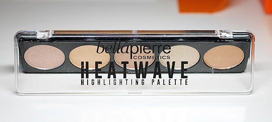 Heatwave Highlighter Palette von BelláPierre