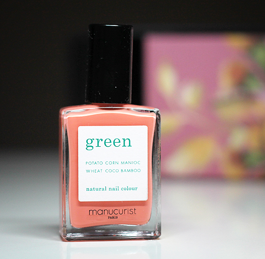 "(Manucurist) Green Natural Nail Colour in ""Bird of Paradise"""