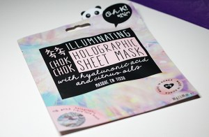 (Oh-K!) Chok Chok Illuminating Holographic Sheet Mask