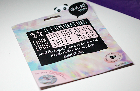 (Oh K!) Chok Chok Illuminating Holographic Sheet Mask