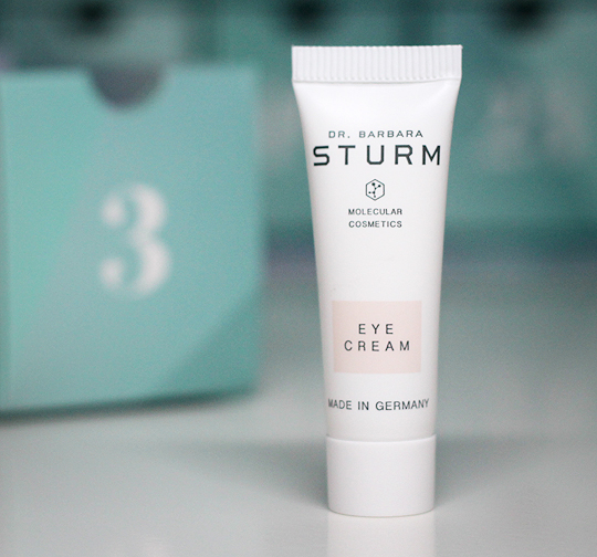 Kästchen Nr. 3: Dr. Barbara Sturm Eye Cream
