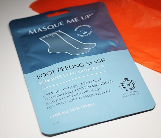 (Masque Me Up) Foot Peeling Mask
