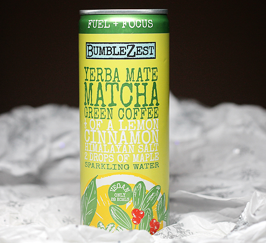(BumbleZest) Fuel + Focus Yerba Mate Matcha Green Coffee