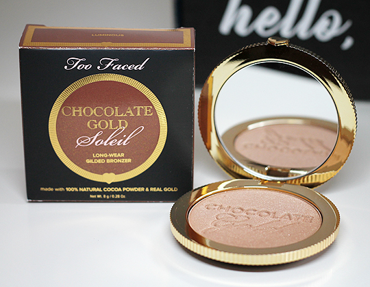 "(Too Faced) Chocolate Gold Soleil Bronzer in ""Luminous"""
